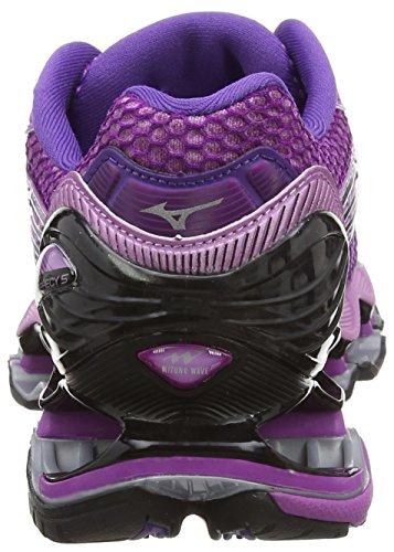 Mizuno Wave Prophecy 5 - Zapatillas de running Mujer Negro (HyacinthViolet/RoyalPurp/Black)