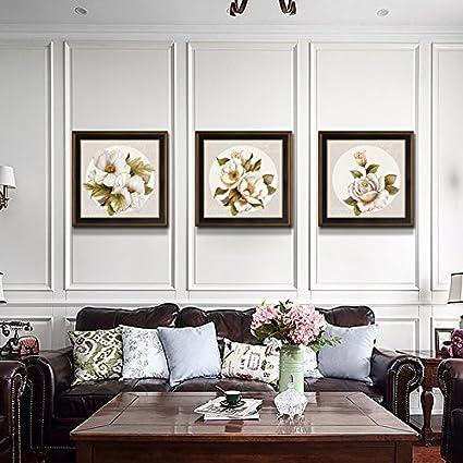 Patined Bel Soggiorno decorazione pittura divano parete di sfondo ...