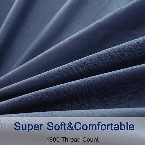 SONORO KATE Bed Sheets Set Sheets Microfiber Super Soft 1800 Thread Count Luxury Egyptian Sheets