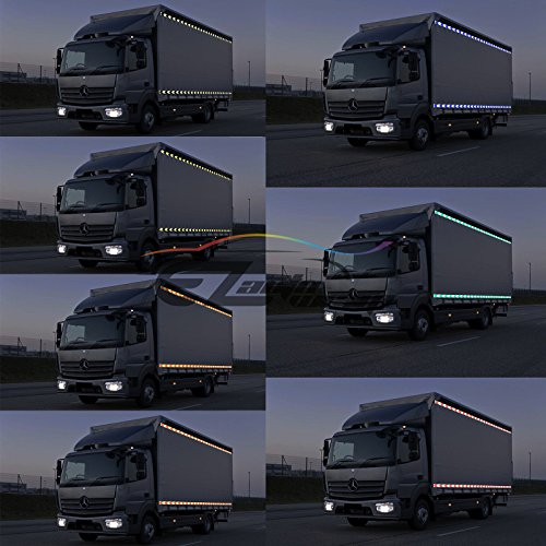 """*Arrow Blue White Conspicuity Tape 2/""""x120/' Reflective Safety Truck Trailer RV"""