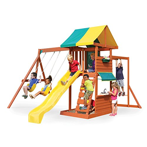 Big Backyard Clubhouse Deluxe Play Set