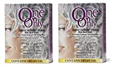 One 'n Only Shiny Silver for Grey Hair Perm with Argan Oil Kit (2BOXES)