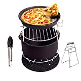 Air Fryer Accessories Deep Fryer for Gowise Phillips and Cozyna with Non Stick Pan Material Fit all 3.7QT-5.3QT-5.8QT Set of 5 for Cake Pizza Barbecue by WYCY