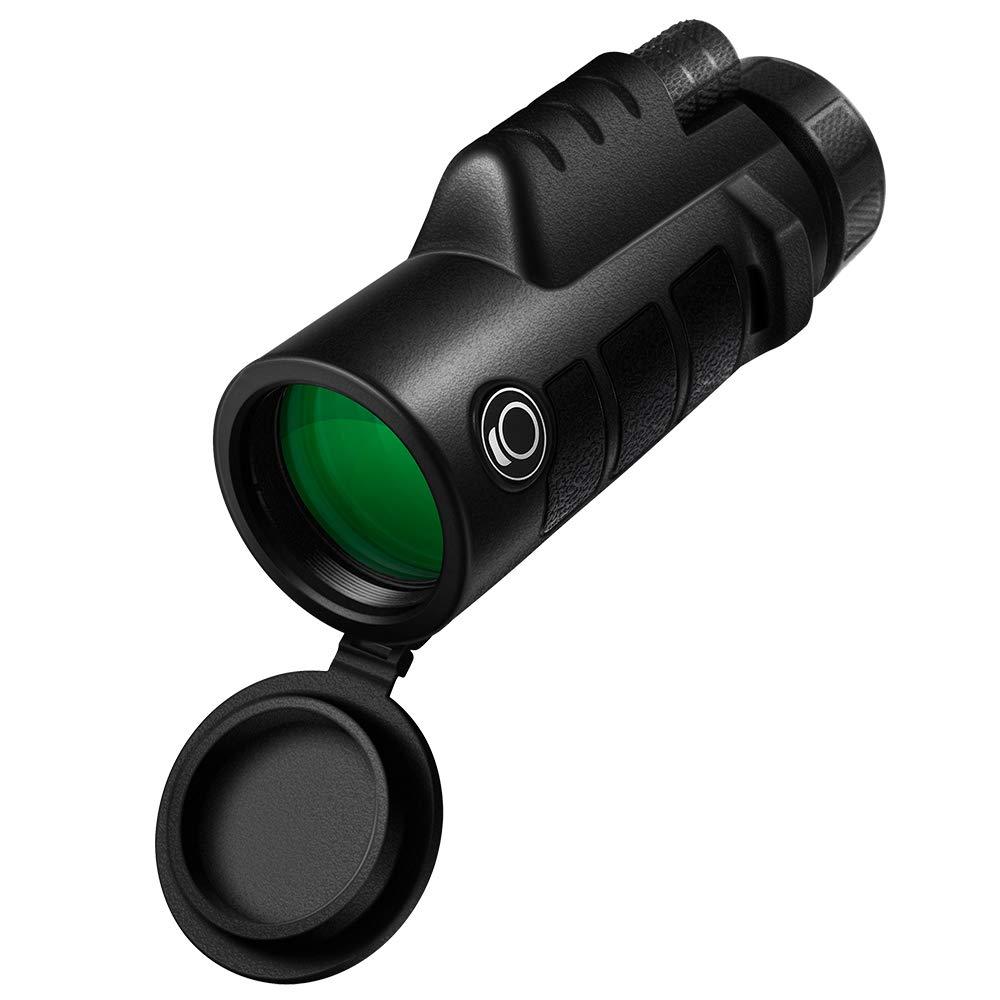 K&F Concept Optics Explorer High Powered 10X42 Single Hand Focus Monocular Waterproof Fogproof IP67 by K&F Concept