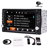 2 knob car radio - Free Camera+Eincar 6.2
