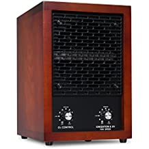 Ivation 5-in-1 HEPA Air Purifier & Ozone Generator, Ionizer & Deodorizer for Up to 3,700 Sq/Ft – Included HEPA, Carbon and Photocatalytic Filters, with UV Light and Negative Ion Generator
