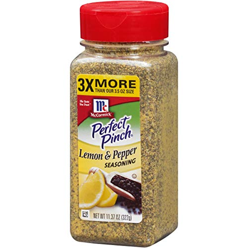 (McCormick Perfect Pinch Lemon & Pepper Seasoning, 11.37 oz)