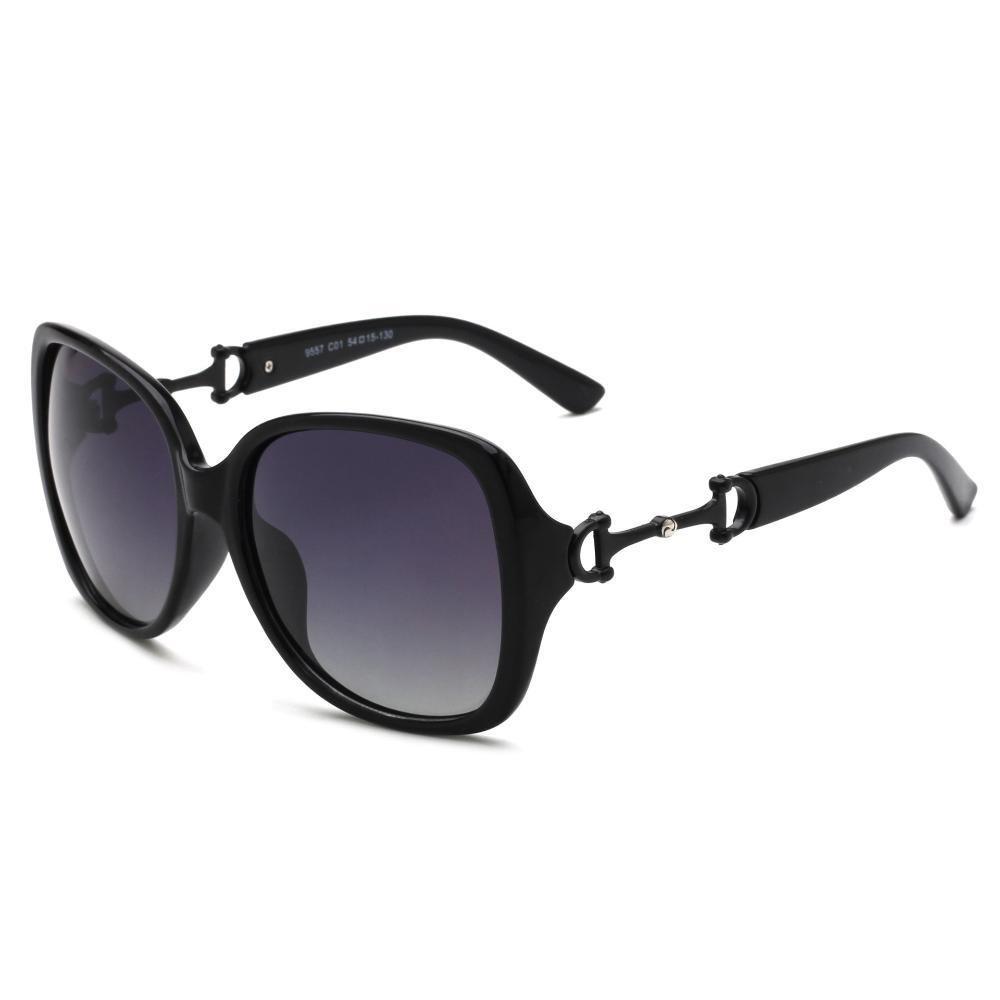 BiuTeFang Gafas de Sol Mujer Hombre Polarizadas Señoras Dos ...