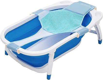 Itian Seggiolino da Bagno per Bambini Sicurezza Vasca da Bagno Sedile Blu