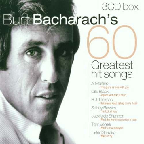 Burt Bacharach's 60 Greatest Hit Songs by Disky Records