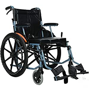 Amazon.com: MLX Silla de ruedas eléctrica, desmontable ...