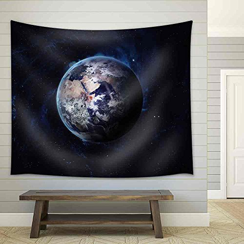 Earth Image Fabric Wall