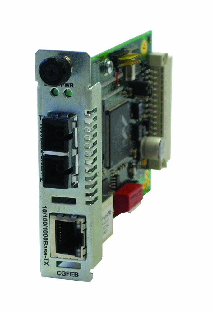 10/100/1000BT To 1000BX Sc Mm 850NM Module Converter by Transition Networks
