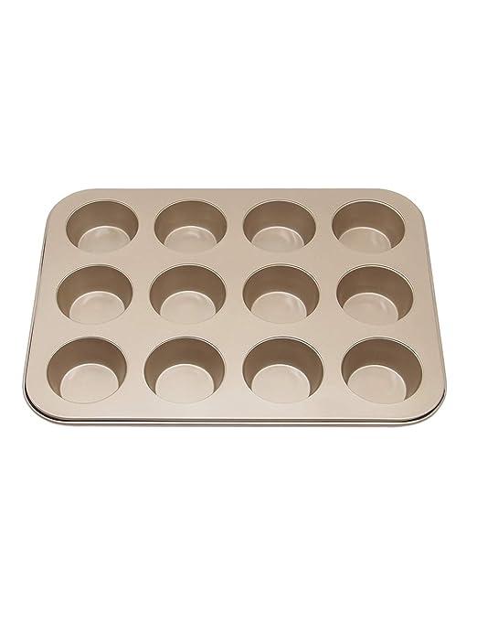 Molde de Horno para Magdalenas y Muffins de Acero al Carbono con ...