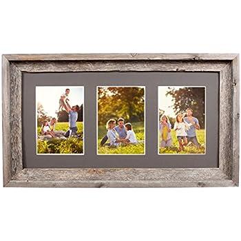 Amazon.com - Prinz 3 Opening Seaside Wood Plank Collage Frame, 5 x 7 ...