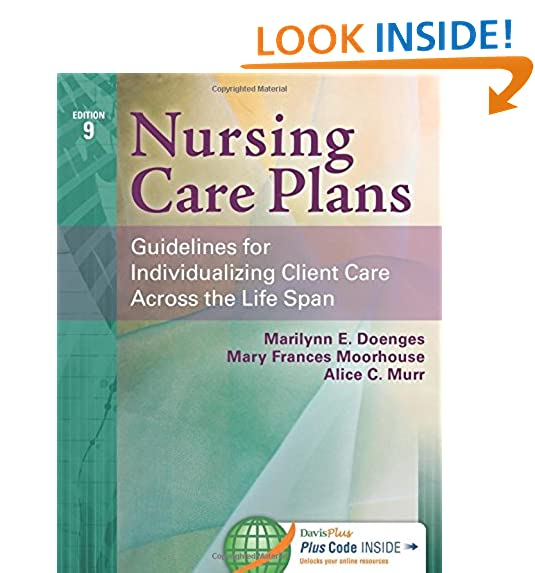 Nursing Care Plan AmazonCom