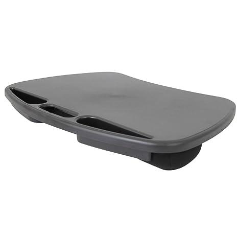1PLUS Premium Laptop Cojín, Bandeja, cojín Bandeja Negro