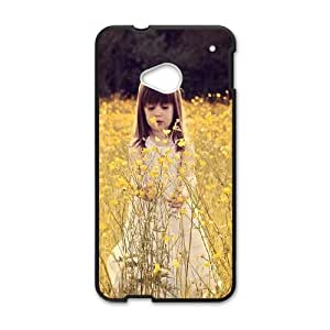 Cute Girl HTC One M7 Cell Phone Case Black as a gift F7912963
