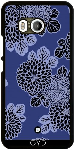 Funda para Htc U11 - Flores Azules by wamdesign