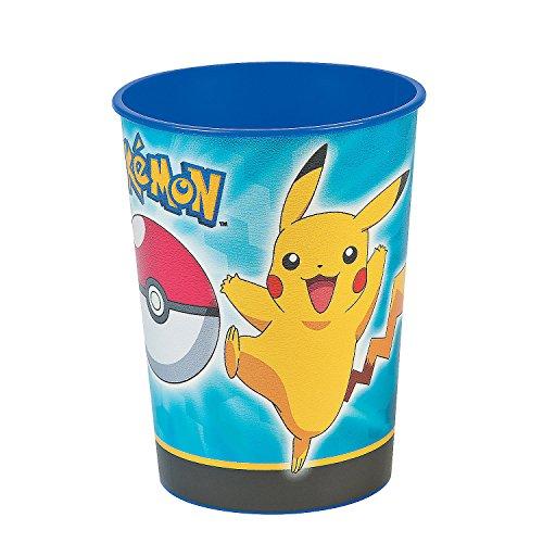 16oz Pokemon Pikachu & Friends Party Plastic Loot Treat Favor Keepsake cups (4)