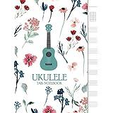 """Ukulele Tab Notebook: Blank Ukulele Tablature Notebook, 8.5""""x11"""", 110 Pages"""
