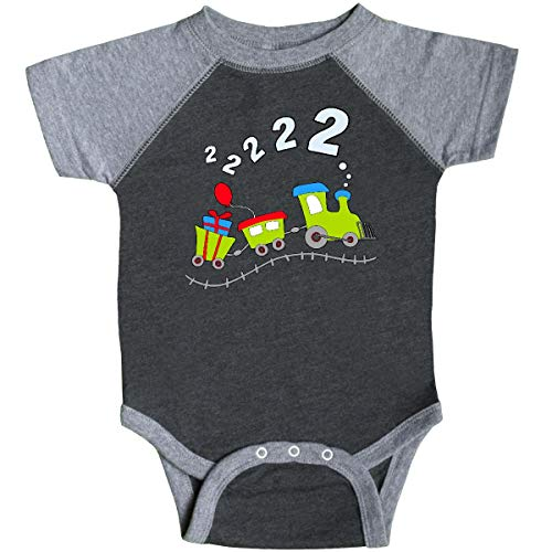 inktastic - 2nd Birthday Party Infant Creeper 24 Months Smoke and Granite 285ba