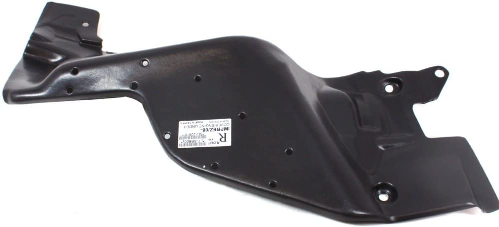 Engine Splash Shield Plastic Engine Under Cover Passenger Side Right RH compatible with Subaru Impreza