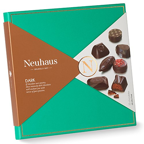 Neuhaus Chocolate Dark Collection, 25 Assortment Pieces, 9.28 oz