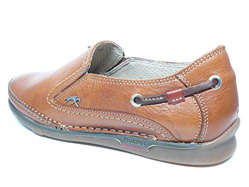 7580 laterales cuero elasticos Cuero FLUCHOS Zapato hombre casual piel 54n en w6xax8FIq