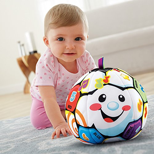 51pE%2BMLRMqL - Fisher-Price Laugh & Learn Singin Soccer Ball