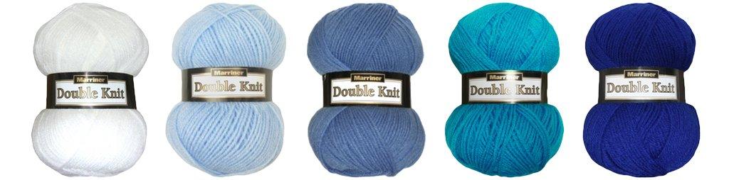 Marriner Boys Bumper Pack | Double Knit Yarn | 100% Acrylic | 5 x 100g Balls