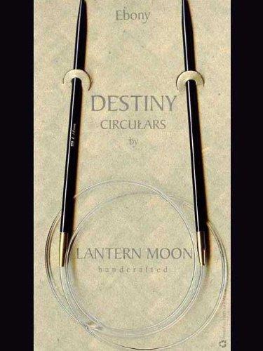 Lantern Moon Circular Ebony