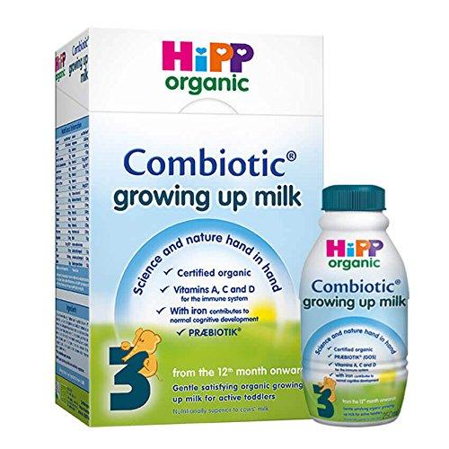 Hipp Organic Combiotic Growing Up Milk Powder 12mth+ Stage 4 (600g)