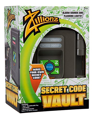 Zillionz 3020206 Secret Code Vault product image