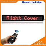 [Expedited Shipping] Leadleds 26'' x 4'' Red Color Scrolling Message Board Open Signs for Business, Store, Beer, Bar