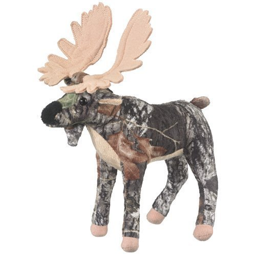 Mossy Oak Moose Plush Stuffed Animal Camo Super Soft Officially Licensed
