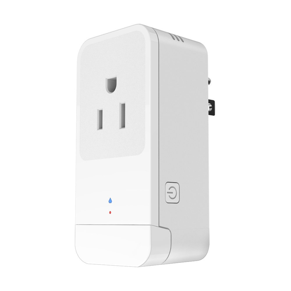 TOMNEW Wifi Smart Plug, Mini Smart Socket Compatible with Alexa Google Home Electrical Power Switch for Household Appliances Remote Control From Anywhere 16A Overcurrent Protection (Common)