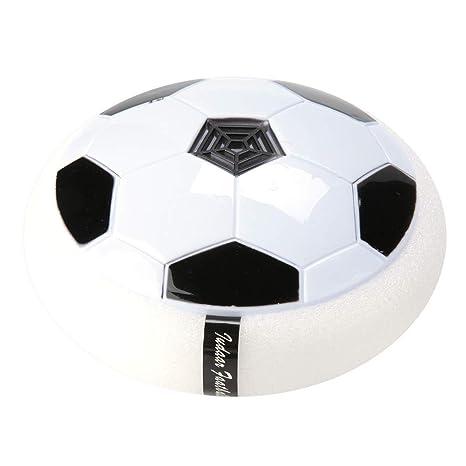 Alomejor Pelota de fútbol Flotante con luz led de Color Disco de ...