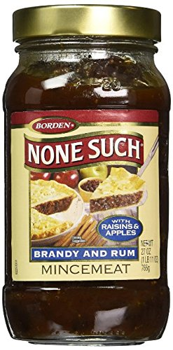 Borden's Rum and Brandy Mincemeat with Raisins & Apples - 27 oz