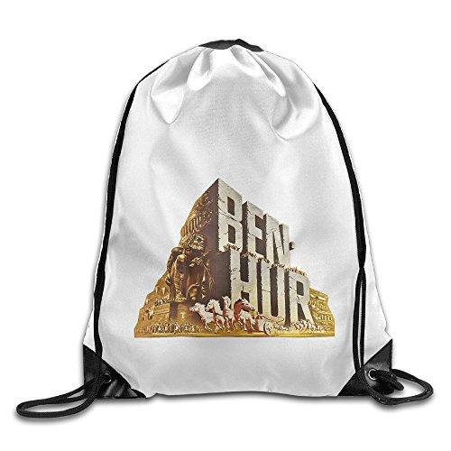 Bekey Ben-Hur Flim Gym Drawstring Backpack Bags For Men & Women For Home Travel Storage Use Gym Traveling Shopping Sport Yoga Running
