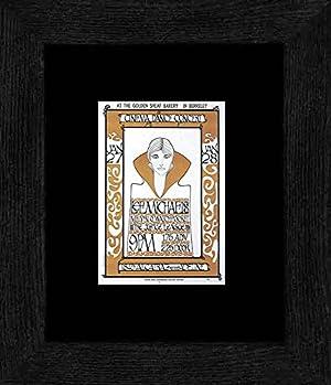 Lee Michaels M. Q. Watchpocket - Golden Sheaf Bakery Berkeley 1967 Framed and Mounted Print - 20x18cm