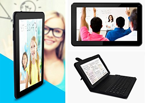 Azpen A949 9'' Quad Core Android 5.1 OS Tablet with Bluetooth Dual Cameras Office Suite, Keyboard and Case Included by Azpen
