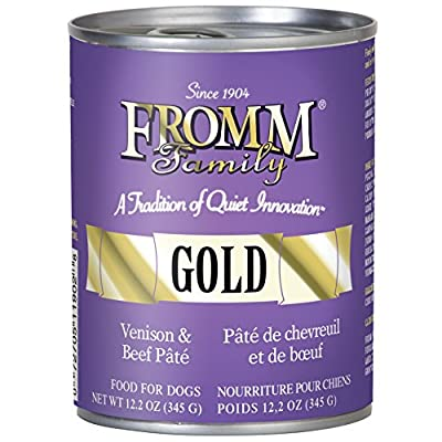Fromm Gold Venison and Beef P?t? 12/12.2 Oz