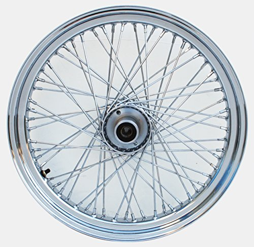 21X3.25 60 SPOKE WHEEL FOR HARLEY SOFTAIL FXST, FXSTC & DYNA WG 1984-99 (23 Inch Motorcycle Wheel)