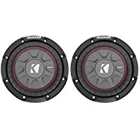 (2) Kicker 43CWRT672 6 3/4 Subwoofers Totaling 600 Watt With 2-Ohm DVC