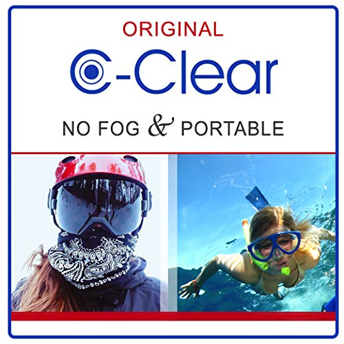 C-Clear Anti Fog Lens Cleaner - (3) 1 Oz Spray Bottles by C-Clear (Image #3)