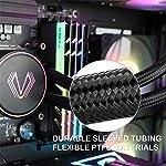 Vetroo-V240-240mm-Radiator-Black-Addressable-RGB-All-in-one-AIO-CPU-Liquid-Cooler-for-Intel-115011511156-and-AMD-AM2AMD3AM4-2X-120mm-ARGB-PWM-Fans-wController