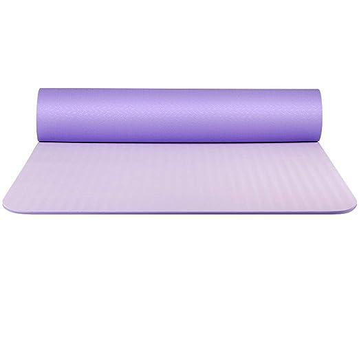 ZHAS Colchonetas de Yoga, Material TPE insípido Colchoneta ...