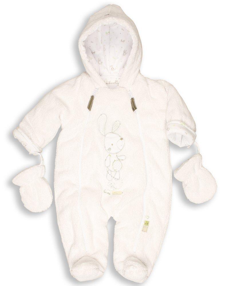 The Essential One Baby Fur Snowsuit Pram