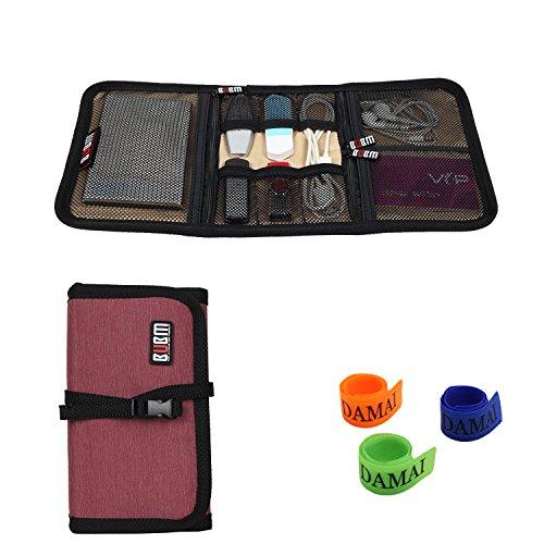 Bubm Portable Universal Wrap Electronics Accessories